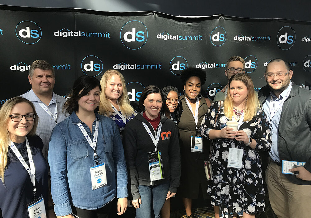 MILO Detroit team at Digital Summit Detroit