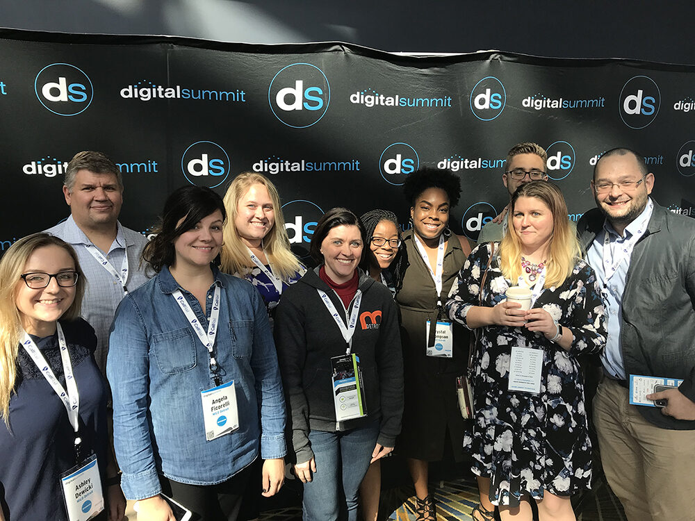 MILO Detroit team at Digital Summit Detroit